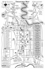 Chillicothe Ohio Map by Cartography By Intrepid Historical Services