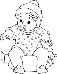 100 ideas free baby coloring pages emergingartspdx