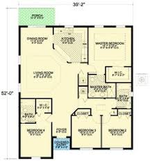 4 bedroom house plan plan 36817jg courtyard home plan courtyard