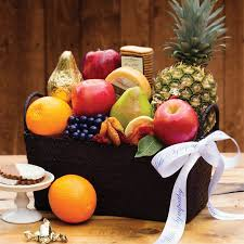 Gift Baskets With Free Shipping Heartfelt Condolence Fruit Basket The Fruit Company