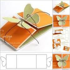 how to made 3d greeting card step by step 3d butterfly