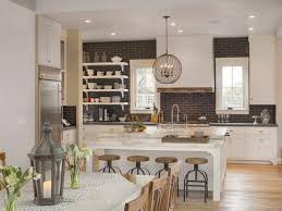 comfortable farmhouse interior design for kitchen design with