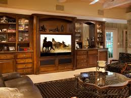 Media Room Built In Cabinets - how to set up a media room hgtv