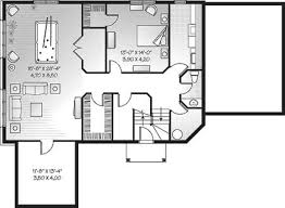 House Plan e Story Home Plans With Basement Small Cottage 3800 3