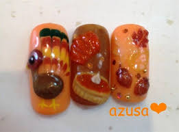 86 best thanksgiving nails images on pinterest fall nail art