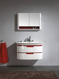 14 Inch Deep Bathroom Vanity Wall Mounted Bathroom Vanity For Your Home Hometutu Com
