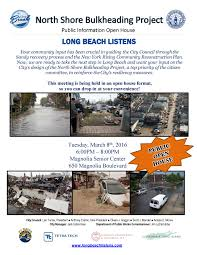 long beach listens north shore bulkheading project public