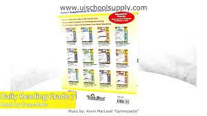 daily reading comprehension grade 7 book by evan moor emc3457