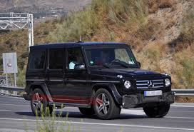 mercedes jeep mercedes benz g55 amg spy shots photo gallery autoblog