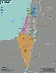 negev desert map wikitravel