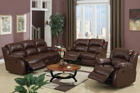 trani reclining living room love seat chocolate brown bonded