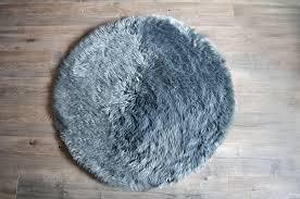 faux sheepskin round rug u2013 dlk design life kids
