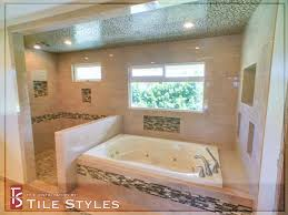 luxury residential master bathroom tile styles