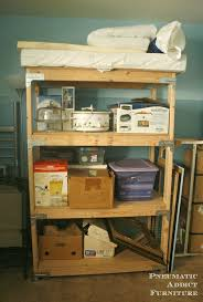 Making Wooden Shelves For A Garage by Best 25 Heavy Duty Shelving Ideas On Pinterest Heavy Duty