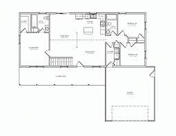 Home Design Bi Level House Plans With Garage Floor Plan Vans - Rambler home designs