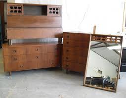 Mid Century Modern Bedroom Set Vintage Vintage Henredon Furniture Top Manufacturers Century Bedroom