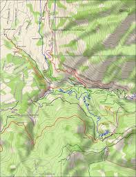 Map Of Ogden Utah by Rush Trail