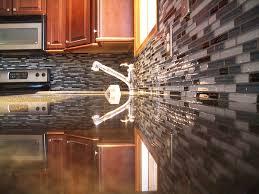Kitchens With Backsplash Kitchen Mesmerizing Kitchen Tile Design Ideas Metal Tile