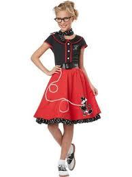 Junior Halloween Costumes 50s Costumes 1950s Halloween Costumes Adults Kids