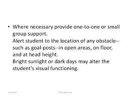 Support Groups For The Blind Adapted Physical Education For The Blind And Visually