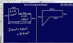 Area Of Compound Shapes Worksheet Area Of Irregular Shapes Edexcel Gcse Maths Youtube