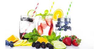 membuat infused water sendiri manfaat infused water untuk diet cara membuatnya