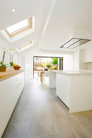 tiled kitchen floor ideas kitchen kitchen ceramic floor grey tiles white tile island with