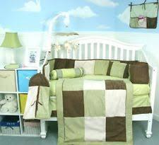 Frog Crib Bedding Frog Crib Bedding 10pc Set Boy Baby Comforter Brown Lime Green
