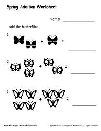 kindergarten math addition worksheets free worksheets