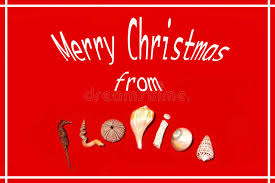 merry from florida stock photo image of card greetings