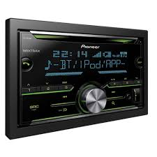 fh x730bt double din pioneer stereo with built in bluetooth usb and au