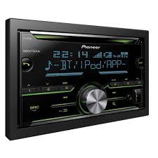 pioneer fh x720bt double din cd mp3 car stereo bluetooth usb