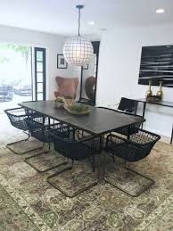 eclectic modern dining room cococozy