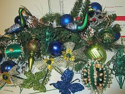 peacock ornaments collection on ebay