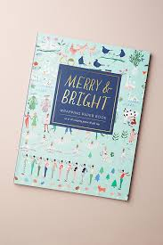 turquoise wrapping paper merry bright wrapping paper book anthropologie