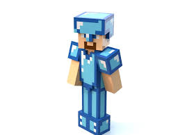 diamond steve lego minecraft steve with diamond armor