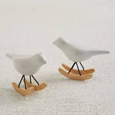 rocking bird salt pepper shaker set west elm