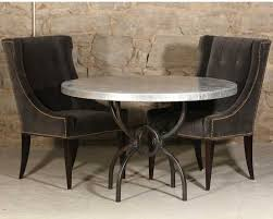 wood and iron dining room table round wrought iron dining tables you ll love artisan crafted iron