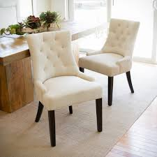 Tufted Dining Chair Set Christopher Home Hayden Tufted Fabric Dining Accent Chair