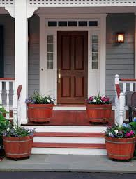 Beautiful Front Doors 35 Front Door Flower Pots For A Good First Impression