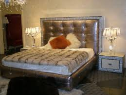 Luxurious Bed Frames Bedroom Custom Tufted Sleigh Bed Tufted Sleigh Bed Look
