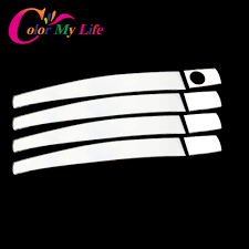 vauxhall vectra logo color my life stainless steel door handle cover sticker for opel
