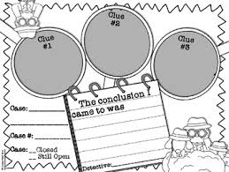 free drawing conclusions graphic organizer tpt