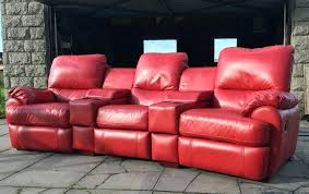 Cinema Recliner Sofa Stupendous Leather Reclining Sofa Picture Gradfly Co