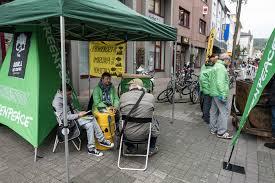Stadtwerke Bad Kreuznach Protest Vor Energieeck Greenpeace Bad Kreuznach