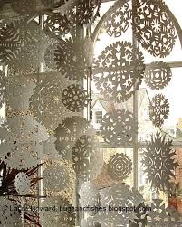 bugs and fishes by lupin snowflake curtain