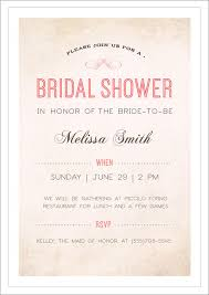 Wedding Invitation Example Wedding Shower Invitation Template Theruntime Com