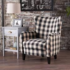 plaid chair ebay