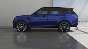 orange range rover svr forza motorsport 6 2015 land rover range rover sport svr youtube