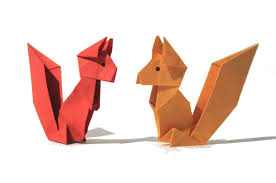 origami squirrel easy origami tutorial old version how to make